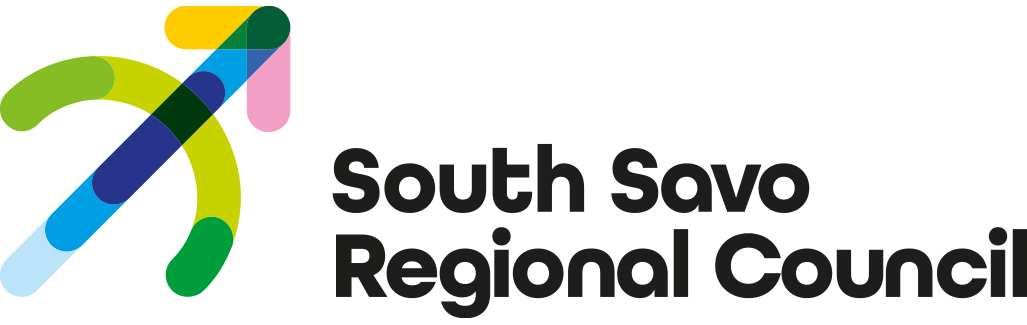 The Regional Council of South-Savo logo - Link to home